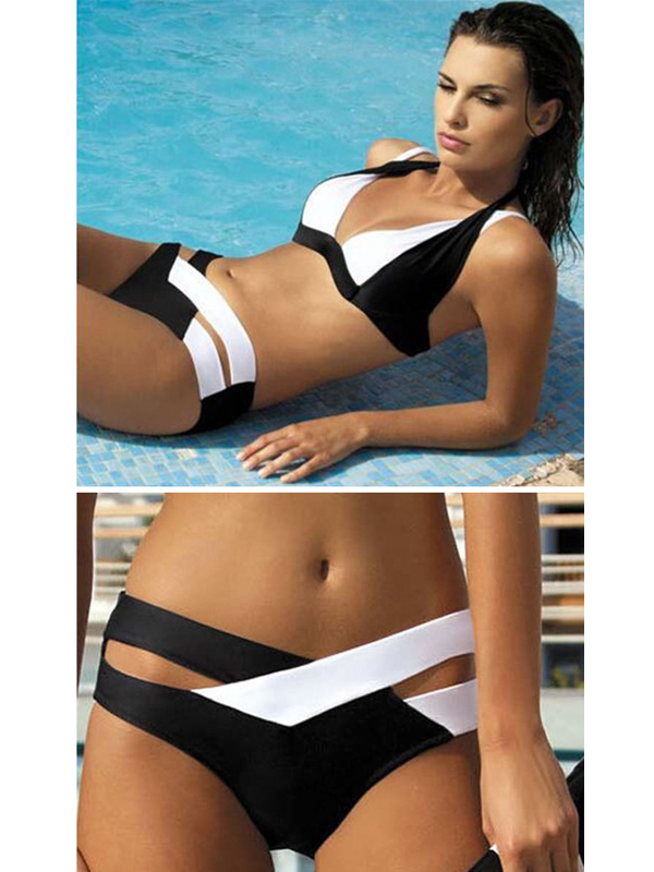 d48578ee4 fekete fehér divat bikini webshop ár: 7.990 Ft